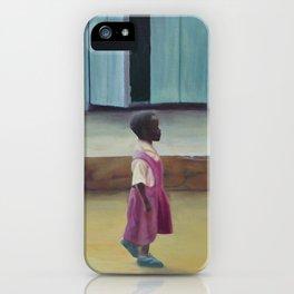 African Girl iPhone Case