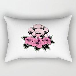 Pink Diamond Tattoo Rectangular Pillow