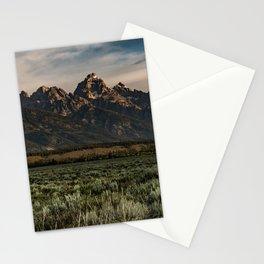 Teton Morning Stationery Cards