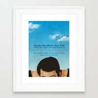 ferris bueller Framed Art Prints featuring Ferris Bueller' Day Off by Tommaso Valsecchi