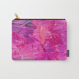 Pink Sky Map Carry-All Pouch