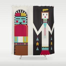 Kachina Dolls Shower Curtain