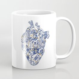 Broken heart - kintsugi Coffee Mug