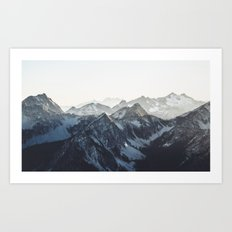 Mountain Mood Art Print