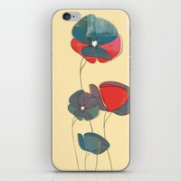 amelie iPhone & iPod Skins featuring Amelie Floral  by Endless Summer