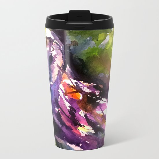 Owl Have What She's Having Metal Travel Mug