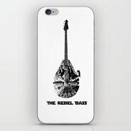 Rebel Bass iPhone Skin