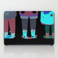 shoes iPad Cases featuring Shoes by genie espinosa