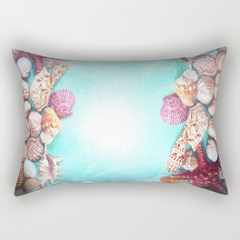 girls just wanna have sun! Rectangular Pillow