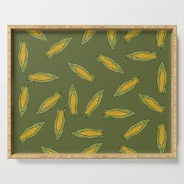 Corn pattern Serving Tray