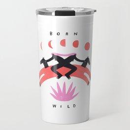 Born Wild Travel Mug