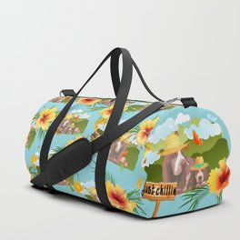 hayzy lazy hounds Duffle Bag