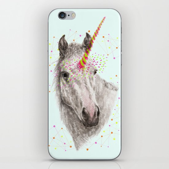 Unicorn V iPhone & iPod Skin