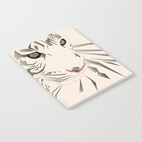 Tiger's Tranquility Notebook