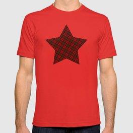 Adorable Red Christmas tartan T-shirt