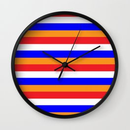 Go Dutch Wall Clock