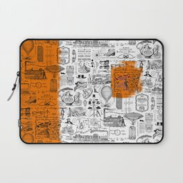 Looking Back to the Future Laptop Sleeve