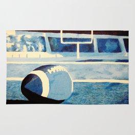 Monochromatic Football Rug