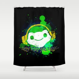 Let's drop the beat! Shower Curtain