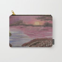 Seaside at Dusk Carry-All Pouch