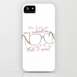 Funny Sofia Quote - The Golden Girls iPhone Case