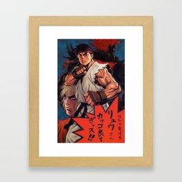 Manga 02 Framed Art Print
