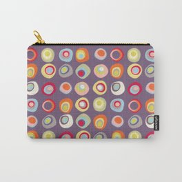 Atomic Circles | Mid Century Modern Style Carry-All Pouch