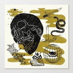 Planet Oblivion Canvas Print