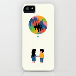 A Time To Reflect iPhone Case