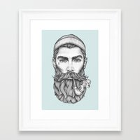 sailor Framed Art Prints featuring Sailor by Thea Nordal