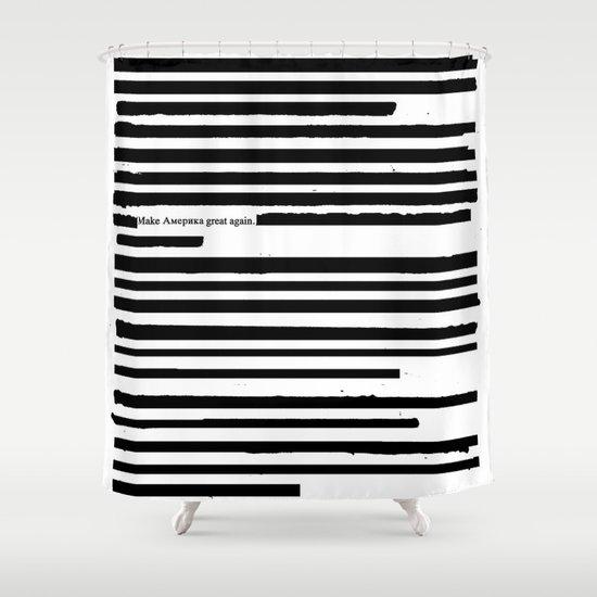 Alternative Facts Shower Curtain By Melasdesign Society6