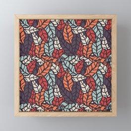 Nature leaves 006 Framed Mini Art Print