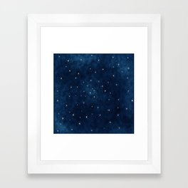 Whispers in the Galaxy Framed Art Print
