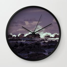 Whales Tail Wall Clock