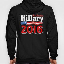 Hillary for President 2016 (dark) Hoody