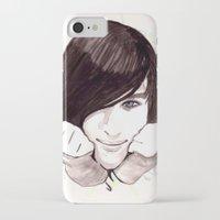 robert farkas iPhone & iPod Cases featuring Robert by hoshi-kou