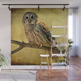 Solitude Stands While Wisdom Draws Near Wall Mural