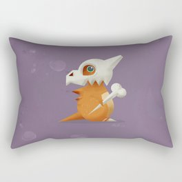 104 Cubone Rectangular Pillow