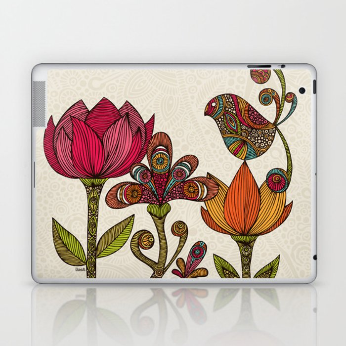 In the garden Laptop & iPad Skin