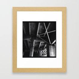 fan Framed Art Print
