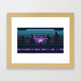 What a Bunch of Guardians Framed Art Print