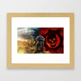 Gears Of War 07 Framed Art Print