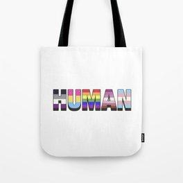 Human pride Tote Bag