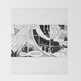 Futurism after Depero Throw Blanket