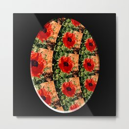 The view of the Poppy Patch... Metal Print