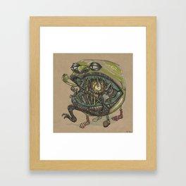 Keys for Fangs Framed Art Print