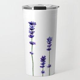 Lavender Flowers. Travel Mug