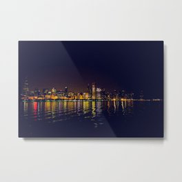 Reflections of a City Metal Print