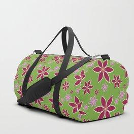 Clematis: Flowers Duffle Bag