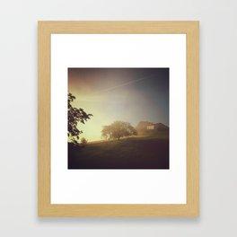 Sunrise Over Saint Jean Framed Art Print